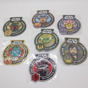 Funko Star Wars Iron-on patch lot